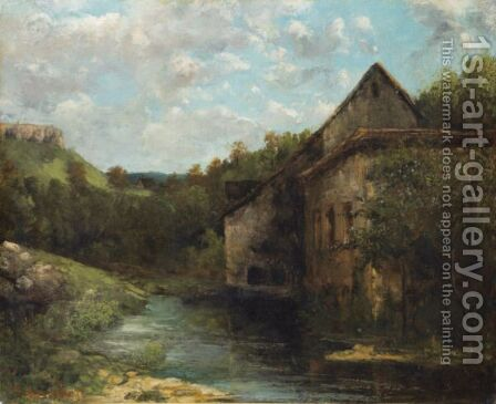 Goodbye To Jura by Gustave Courbet - Reproduction Oil Painting