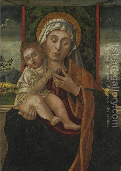 Madonna And Child by (after) Vincenzo Foppa - Reproduction Oil Painting