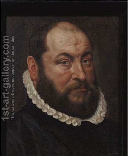 Portrait Of A Bearded Man by Adriaen Thomasz. Key - Reproduction Oil Painting