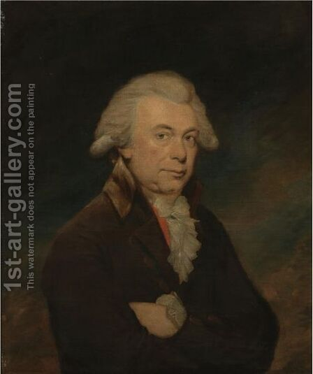Portrait Of A Man by (after) Lemuel-Francis Abbott - Reproduction Oil Painting