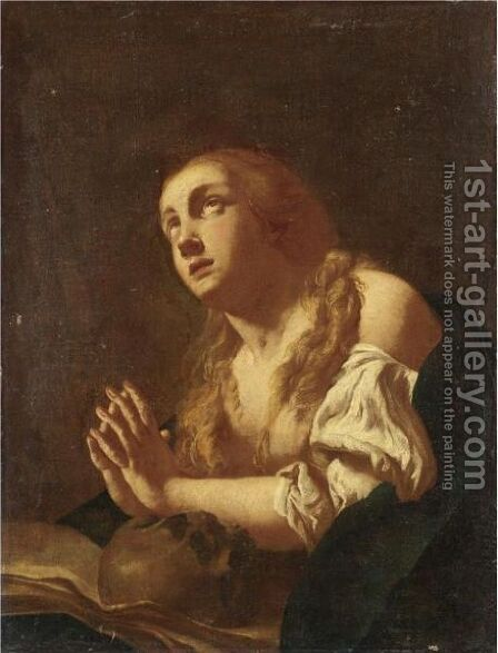 Maddalena by (after) Giovanni Battista Piazzetta - Reproduction Oil Painting