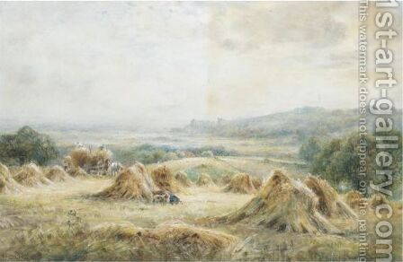 Near Arundel, Sussex by Henry John Kinnaird - Reproduction Oil Painting