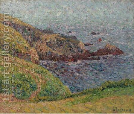 Le Bras De Mer by Gustave Loiseau - Reproduction Oil Painting