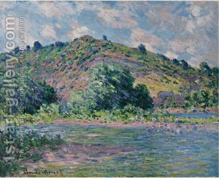 Bords De La Seine A Port-Villez by Claude Oscar Monet - Reproduction Oil Painting
