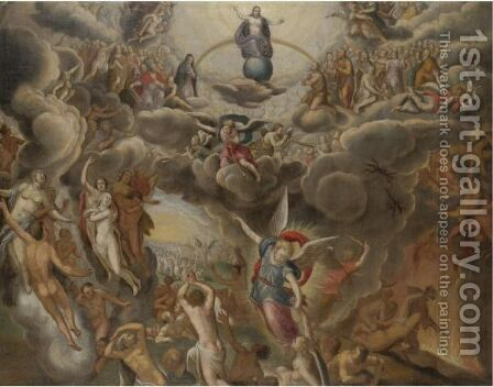 The Last Judgement by Dutch School - Reproduction Oil Painting