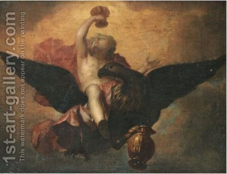Ganymede by (after) Mengs, Anton Raphael - Reproduction Oil Painting