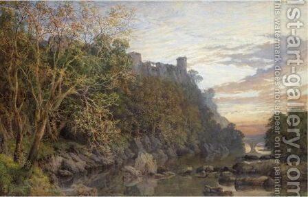 Barnard Castle by Charles Grant Davidson - Reproduction Oil Painting