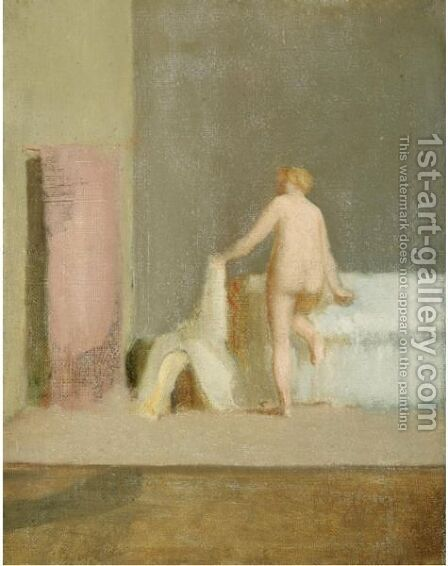 La Femme De Candaules by Edgar Degas - Reproduction Oil Painting