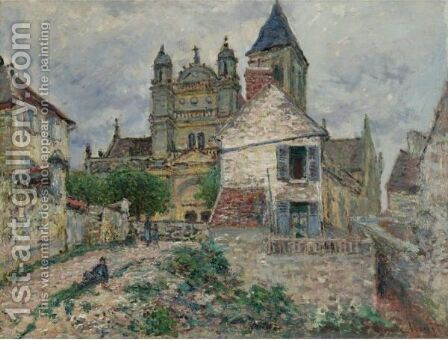 L'Eglise De Vetheuil by Claude Oscar Monet - Reproduction Oil Painting