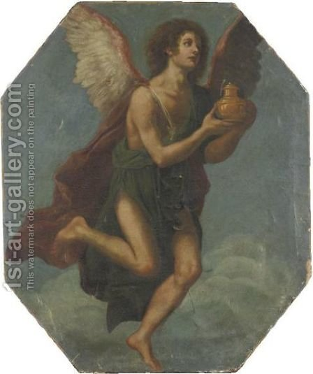 Angel by (after) Jacopo Vignali - Reproduction Oil Painting