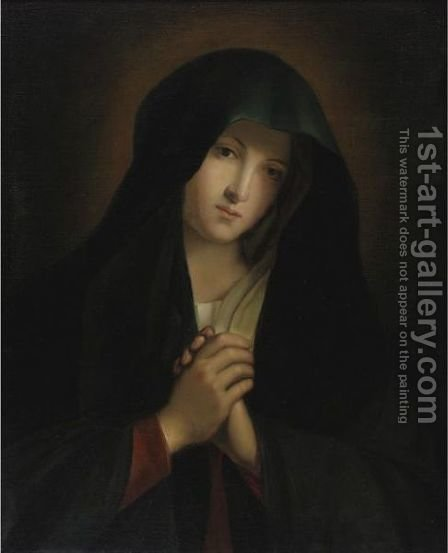 The Madonna At Prayer 7 by (after) Giovanni Battista Salvi, Il Sassoferato - Reproduction Oil Painting