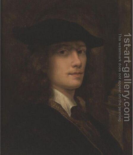 Portrait Of A Gentleman by (after) Simon Pietersz. Verelst - Reproduction Oil Painting