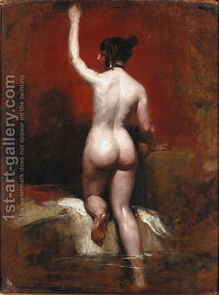 The Bather by (after) William Etty - Reproduction Oil Painting