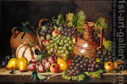 Still Life 2 by Charles Thomas Bale - Reproduction Oil Painting