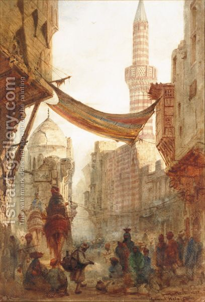 Grand Hein, Cairo by Andrew MacCallum - Reproduction Oil Painting