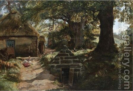 Barnclueth by Alexander Jnr. Fraser - Reproduction Oil Painting