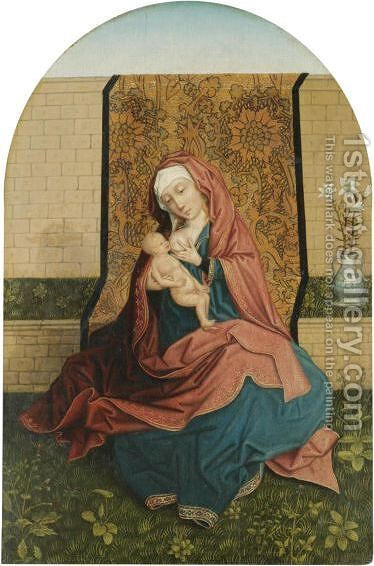 The Virgin And Child 4 by (after) Rogier Van Der Weyden - Reproduction Oil Painting