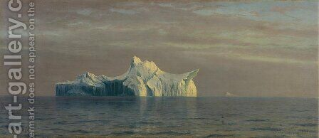 Iceberg by Albert Bierstadt - Reproduction Oil Painting