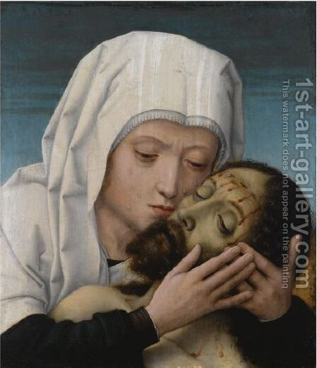 The Pieta by (after) Gerard David - Reproduction Oil Painting