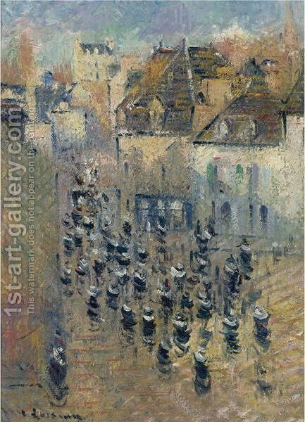 Vue De Pont-Aven by Gustave Loiseau - Reproduction Oil Painting