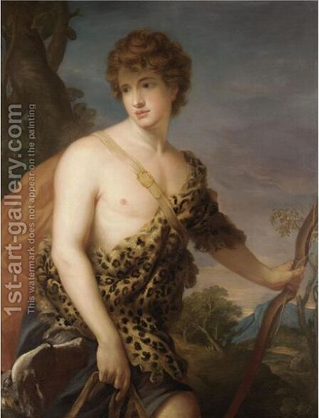Adonis by James Northcote, R.A. - Reproduction Oil Painting