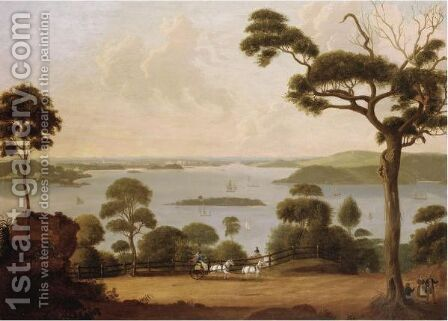 View Of Sydney by Jacob Janssen - Reproduction Oil Painting