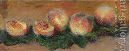 Peches by Claude Oscar Monet - Reproduction Oil Painting