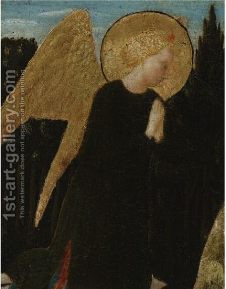 Praying Angel by (after) Andrea Di Giusto - Reproduction Oil Painting