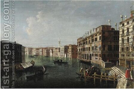 Veduta Del Canal Grande by (after) Michele Marieschi - Reproduction Oil Painting