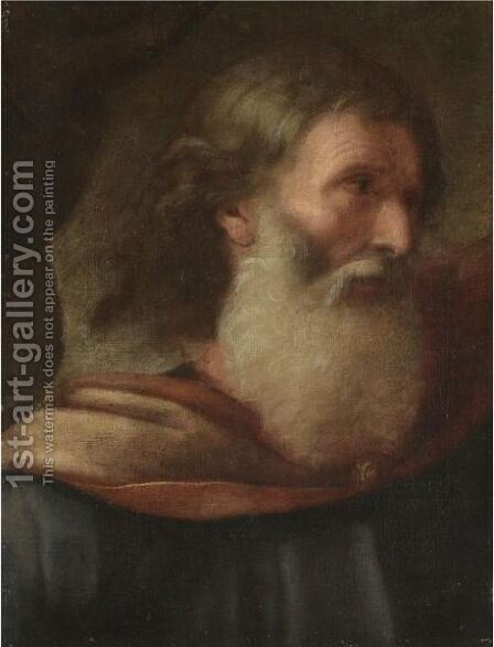God The Father by (after) Giovanni Francesco Romanelli - Reproduction Oil Painting