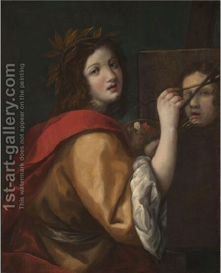 An Allegory Of Painting by (after) Cristofano Allori - Reproduction Oil Painting