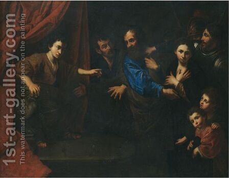 The Judgement Of Daniel by (after) Valentin De Boulogne - Reproduction Oil Painting