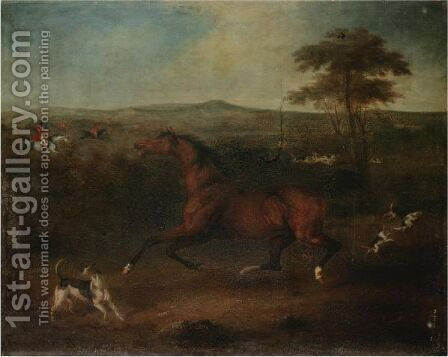 Passion Of The Horse by Henry Bernard Chalon - Reproduction Oil Painting