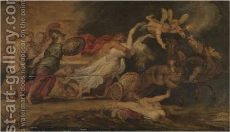 The Rape Of Proserpine by (after) Sir Peter Paul Rubens - Reproduction Oil Painting