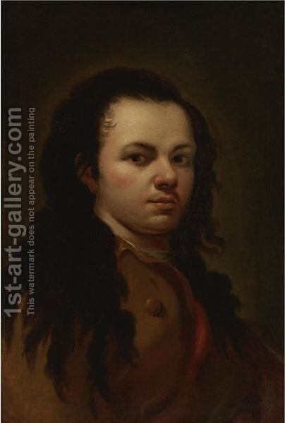 Self-Portrait by (after) Francisco De Goya Y Lucientes - Reproduction Oil Painting