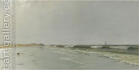 Beach At Little Boar's Head, New Hampshire by Alfred Thompson Bricher - Reproduction Oil Painting