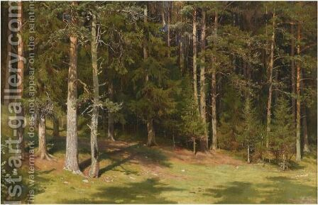 The Clearing 2 by Ivan Shishkin - Reproduction Oil Painting