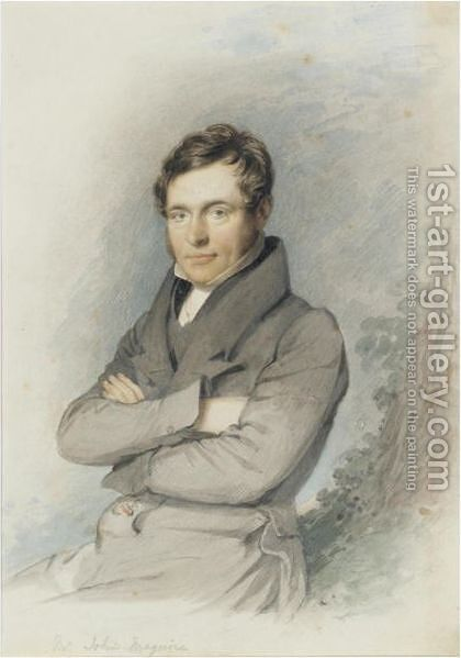 Portrait Of John Francis Maguire (1815-1872), Irish Politician And Journalist by Daniel Maclise - Reproduction Oil Painting