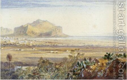 Palermo, Sicily by Edward Lear - Reproduction Oil Painting