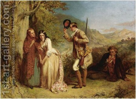 The Valour Of Love by Abraham Solomon - Reproduction Oil Painting