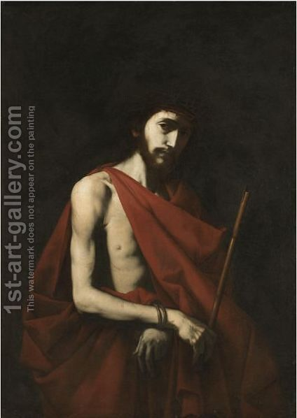 Ecce Homo by (after) Jusepe De Ribera - Reproduction Oil Painting