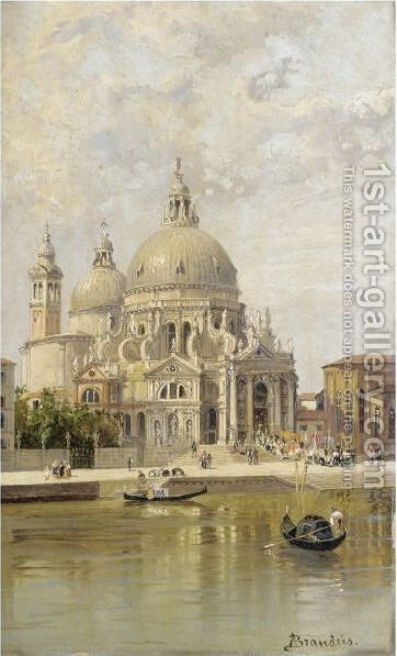 Santa Maria Della Salute by Antonietta Brandeis - Reproduction Oil Painting