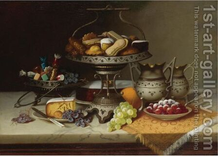 A Regal Dessert by Carducius Plantagenet Ream - Reproduction Oil Painting