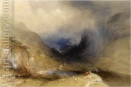 Glencoe by Edward Duncan - Reproduction Oil Painting