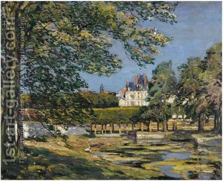 Fountainebleau by Alexander Jamieson - Reproduction Oil Painting