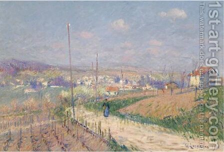 Printemps En Ile-De-France by Gustave Loiseau - Reproduction Oil Painting