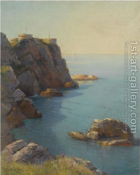 Morning On The Coast by Aleksei Vasilievich Hanzen - Reproduction Oil Painting
