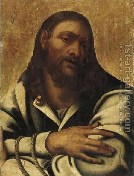 Ecce Homo 3 by (after) Sebastiano Del Piombo (Luciani) - Reproduction Oil Painting