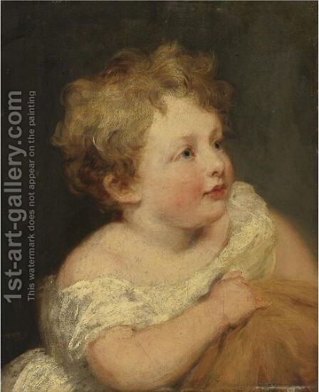 Portrait Of A Child by (after) Lawrence, Sir Thomas - Reproduction Oil Painting
