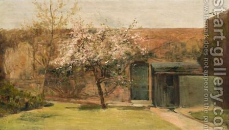 Blossoms, Chantemesle by Charles Edward Conder - Reproduction Oil Painting